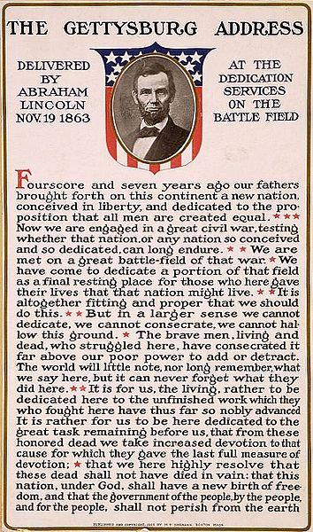 Przemówienie Gettysburskie