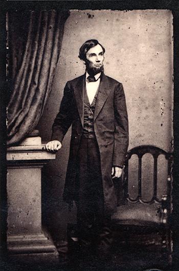 Abraham Lincoln Portret 1863