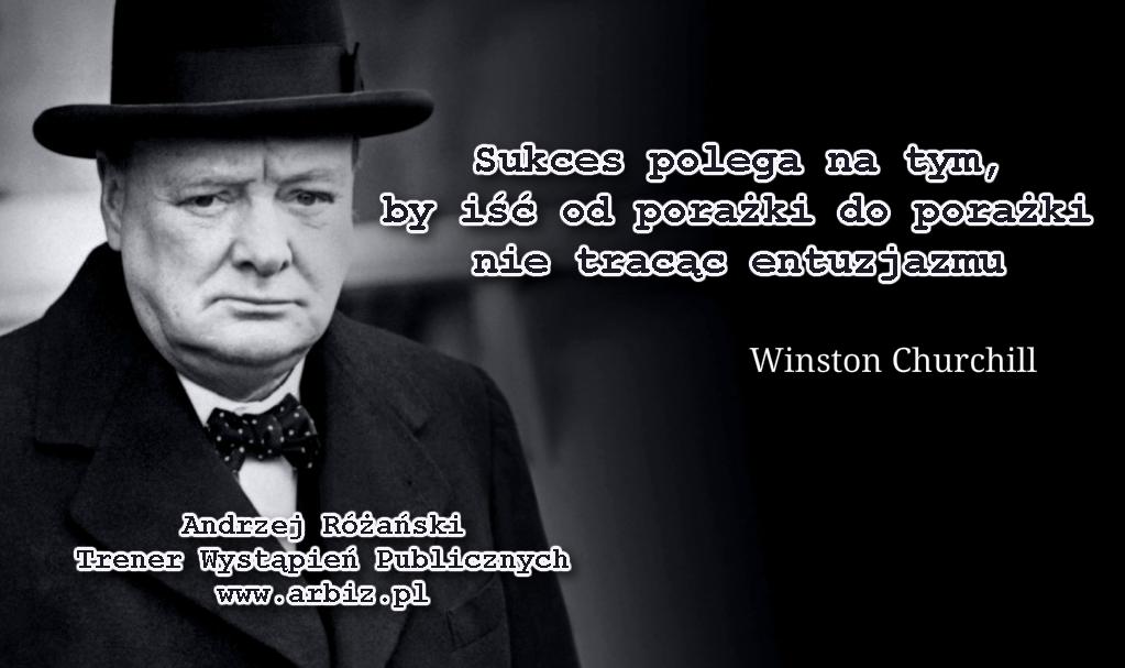 Sukces wg Winstona Churchilla