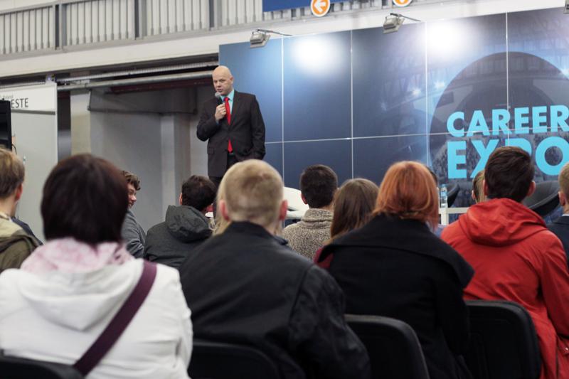 Przemówienie Andrzeja Różańskiego na Targach Pracy Career Expo