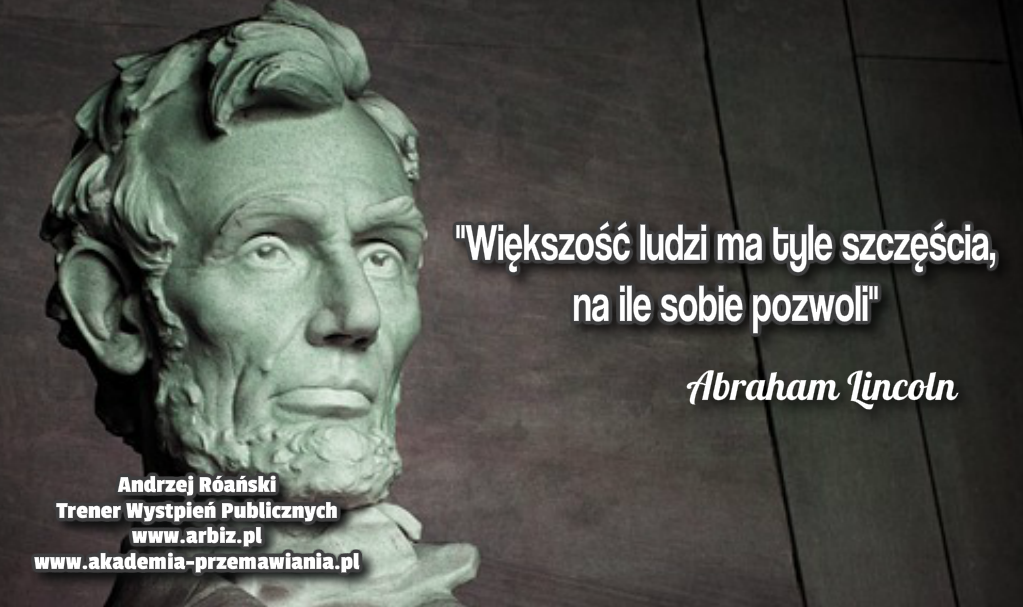 Szczescie wg Abrahama Lincolna