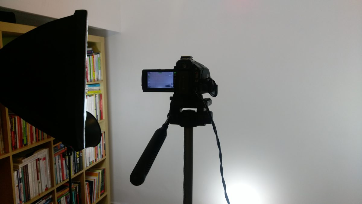 Poradnik o przemawianiu - nagrywam video